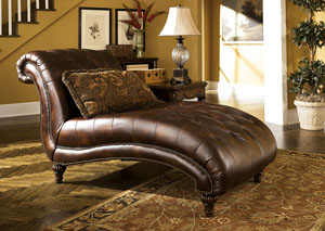 Claremore Antique Chaise,Signature Design by Ashley