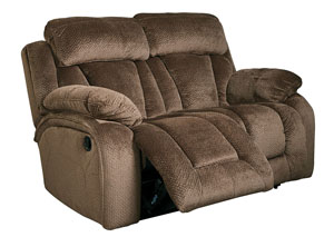 Stricklin Chocolate Reclining Loveseat