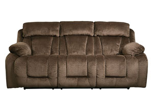 Stricklin Chocolate Reclining Power Sofa