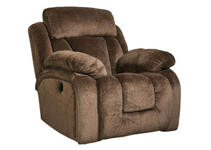 Stricklin Chocolate Rocker Recliner