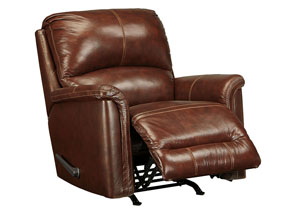 Lacotter Saddle Rocker Recliner,Signature Design By Ashley