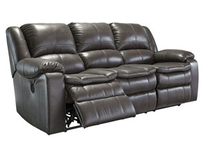 Long Knight Gray Reclining Power Sofa