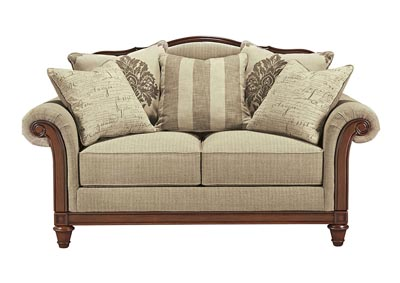Berwyn View Quartz Loveseat