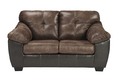 Gregale Coffee Loveseat