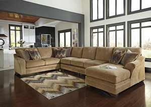 Lonsdale Barley Right Arm Facing Chaise End Extended Sectional