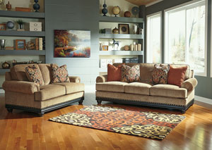 Elnora Umber Sofa & Loveseat,Signature Design by Ashley