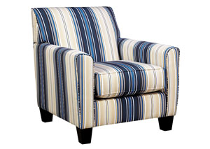 Davis Home Furniture Asheville Nc Ayanna Nuvella Indigo Accent Chair