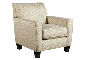 Ayanna Nuvella Sand Accent Chair