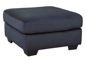 Dailey Midnight Oversized Accent Ottoman