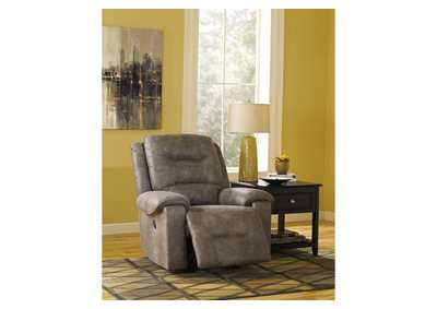 Rotation Smoke Rocker Recliner,Signature Design By Ashley