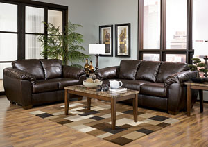 DuraBlend Cafe Sofa & Loveseat,Millennium