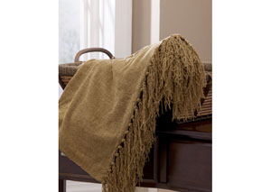 Bronze Revere Throw,Signature Design by Ashley