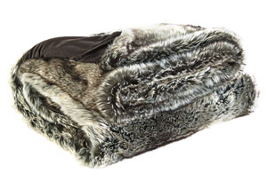 VanLander Charcoal Throw,Signature Design by Ashley