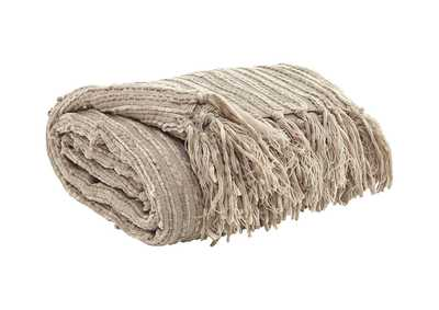 Noland Almond Throw (3/CS),Signature Design By Ashley