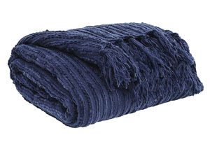 Noland Navy Throw
