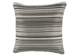 Kaleb Black/White Pillow