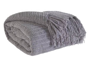 Santino Gray Throw