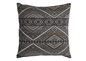 Erata Gray/Brown Pillow (4/CS)
