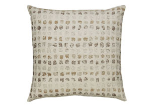Whitehurst Cream/Taupe Pillow