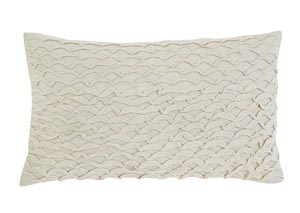 Stitched Beige Pillow