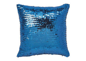 Aurelie Aqua Pillow,Signature Design by Ashley