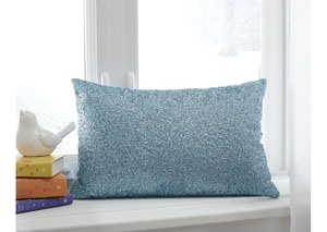 Arabelle Aqua Pillow (4/CS)