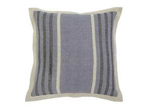 Striped Blue Pillow (4/CS)