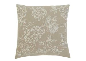 Embroidered Natural Pillow,Signature Design by Ashley