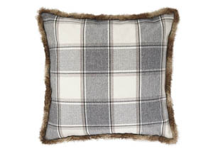 Smythe Gray Pillow,Signature Design by Ashley