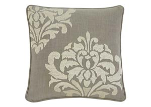 Damask Gray Pillow,Signature Design by Ashley