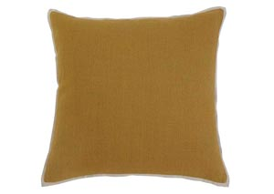 Solid Mustard Pillow Cover,Signature Design by Ashley