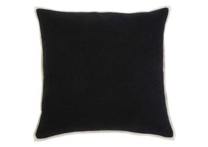 Solid Black Pillow