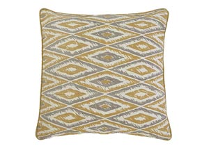 Stitched Gold Pillow