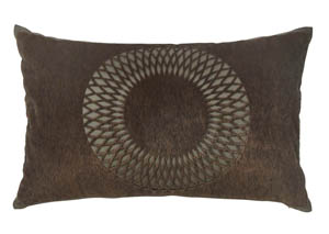Lazarus Brown Pillow