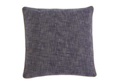 Textured Navy Pillow