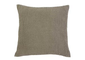 Patterned Brown Pillow (4/CS)