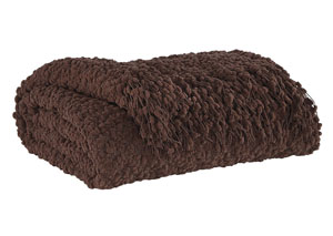 Araminta Brown Throw
