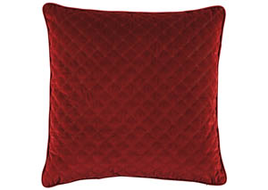 Piercetown Red Pillow