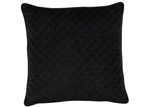 Piercetown Black Pillow
