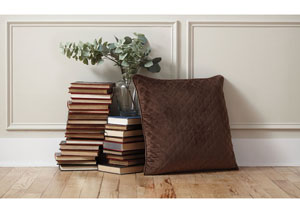Piercetown Brown Pillow (4/CS)