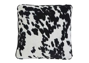 Black Pattern Pillow