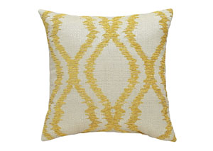 Estelle Yellow Pillow,Signature Design By Ashley