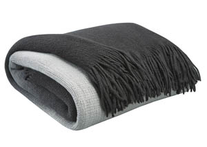 Danyl Black/Gray Throw