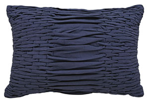 Nellie Navy Pillow