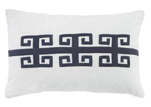Amadeo Navy Pillow