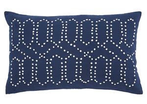 Simsboro Navy Pillow,Signature Design by Ashley