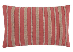 Zackery Coral Pillow