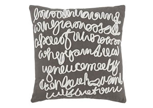 Alfie Gray Pillow Cover