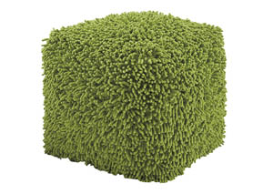 Taisce Green Pouf,Signature Design by Ashley