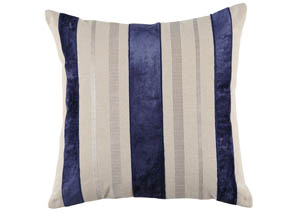 Ashok Natural/Navy Pillow,Signature Design By Ashley